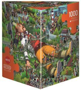ULI OESTERLE - GULLIVER - Heye Puzzle 29886 - 1000 Teile Pcs.