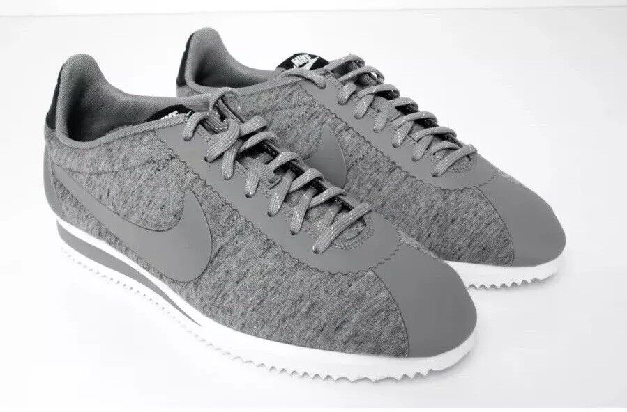 Nike Grey Fleece Tech Cortez Wmn 8