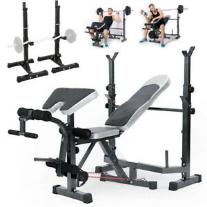 Weight-Bench-Set-With-Weight-Home-Gym-Bench-Press-Lifting-Barbell-Rack-Exercise