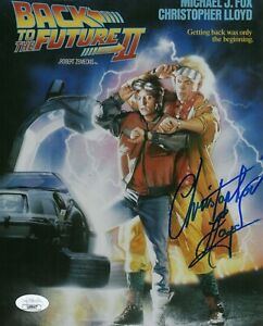 Christopher-Lloyd-Autograph-Signed-8x10-Photo-Back-to-the-Future-JSA-COA