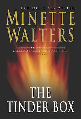 """""""AS NEW"""" Walters, Minette, The Tinder Box, Hardcover Book"""