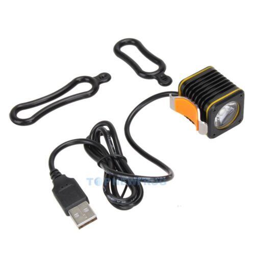 Mini USB Square CREE XM L T6  4 Modes LED Front Bicycle Bike Light Headlight New