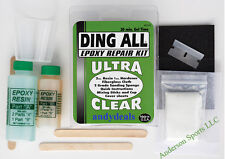 DING ALL  EPOXY  FIBERGLASS DING REPAIR KIT Longboard Surfboard Surf Resin