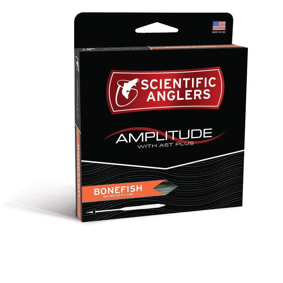 SCIENTIFIC ANGLER AMPLITUDE BONEFISH WF8F  8 SALTWATER FLY LINE WITH AST PLUS