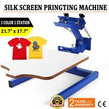 1 Station Silk Screen Printing Press Machine 1 Color T Shirt Pressing Equipment