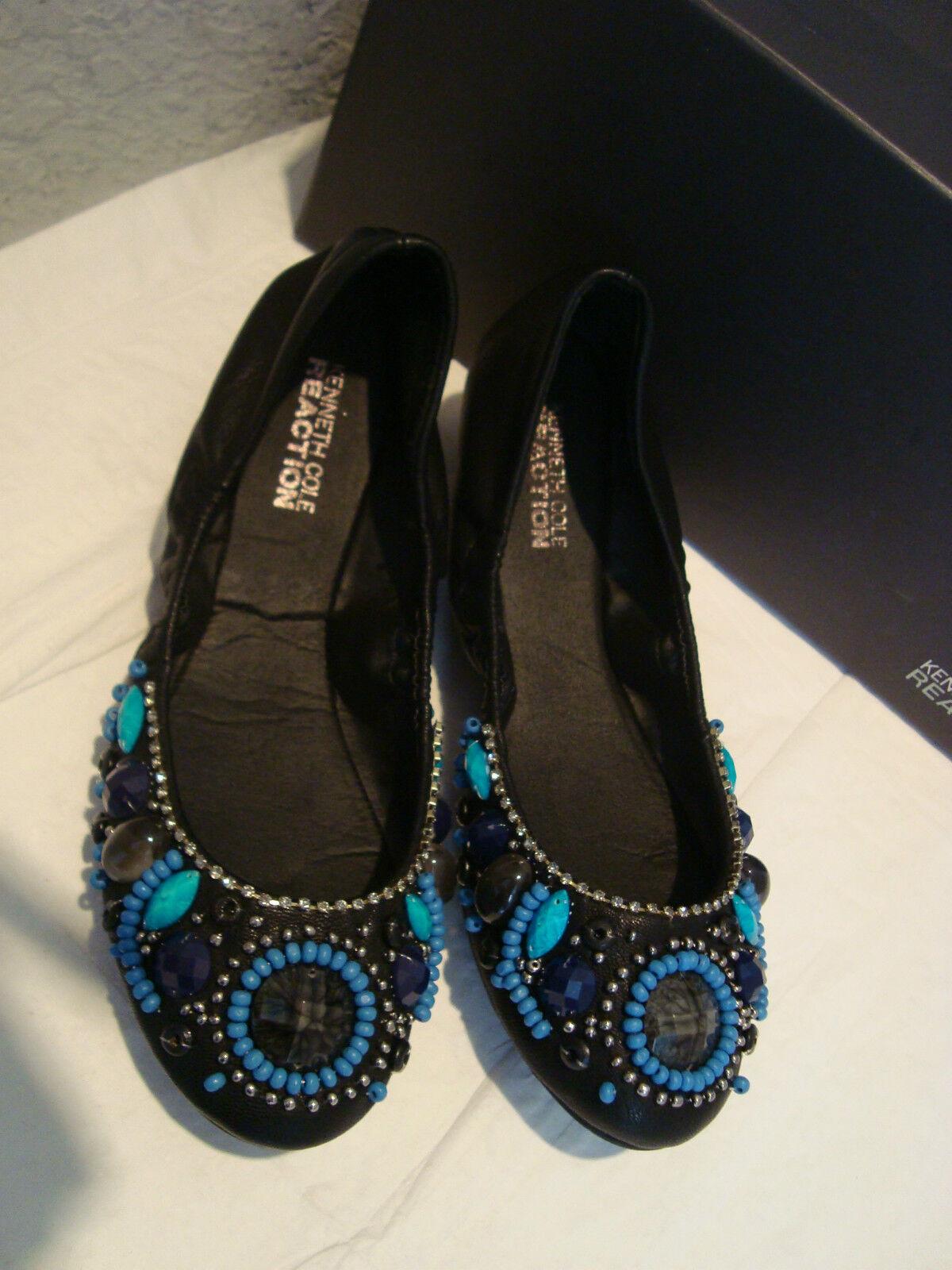 Nuevas mujeres joyas Kenneth Cole reacción negro Zapatos Zapatos Zapatos sin Taco 6 Mediana  promocionales de incentivo