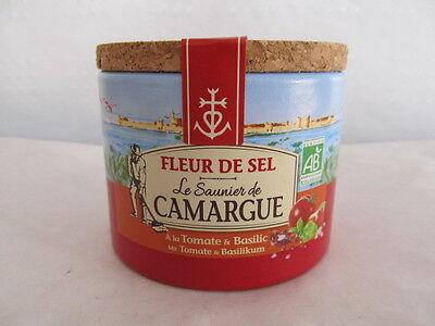 Fleur de Sel Salz de Camargue Le Saunier mit Tomate + Basilikum 125 g