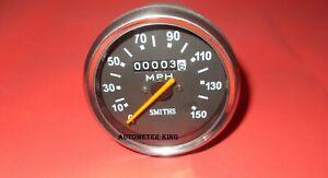 150 MPH for Triumph Norton BSA smiths replica speedometer