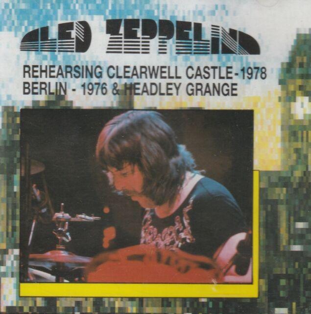 LED ZEPPELIN - REHEARSING CLEARWELL CASTLE 1978