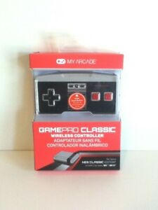 NEW & FREE SHIPPING!! MY ARCADE GAMEPAD CLASSIC WIRELESS CONTROLLER FOR NES