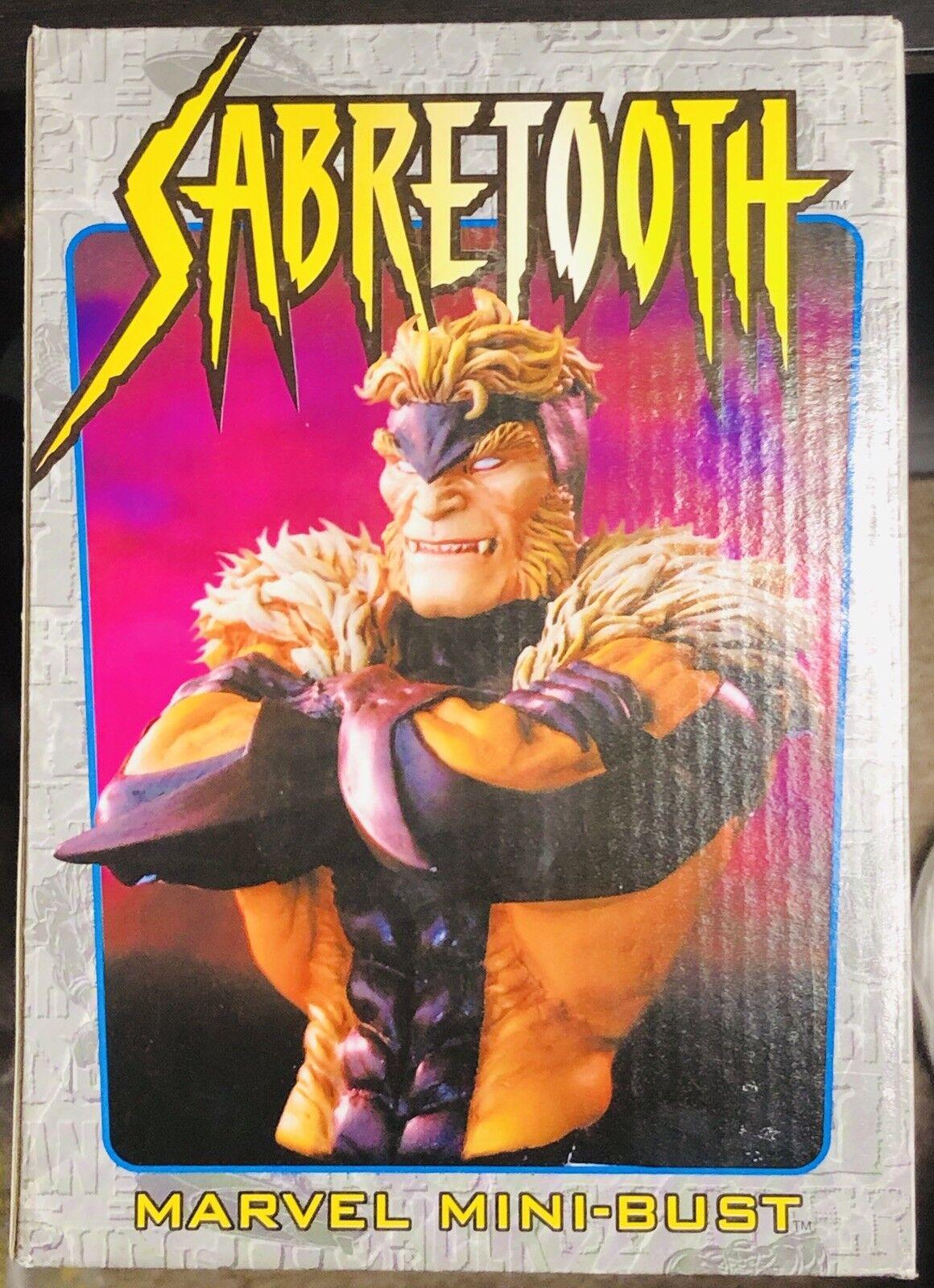 Marvel Sabretooth Signature Edition Bowen mini bust statue, Very Rare
