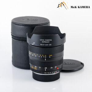 Leica Vario-Elmar-R 21-35mm/F3.5-4.0 ASPH Lens Yr.2002 Germany #728