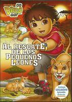 Nickelodeon-go Diego Go Al Rescate De Los Pequeños Leones/lion Cub Rescuedvd