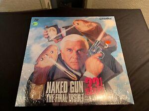 Naked Gun 33 1/3 The Final Insult VHS 1994 Leslie Nielsen