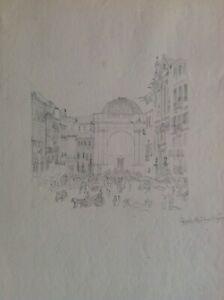 Drawing-Naples-1831-Drawing-Pencil-Holder-Medina