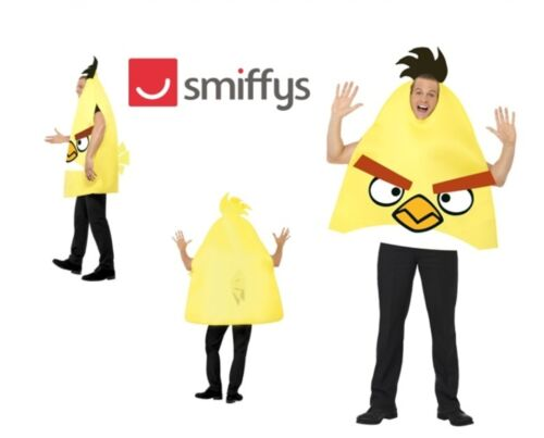 Smiffy/'s Angry Bird Adult Fancy Dress Party Jaune Costume Vêtements clearance