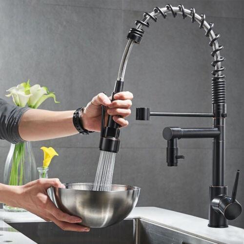 ORB 360°Küchenarmatur Wasserhahn Küche Schwenkbereich Verstellbarer Einhandgriff