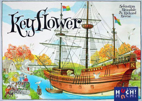 Keyflower Boardgame New by Huch  Multilingual Edition