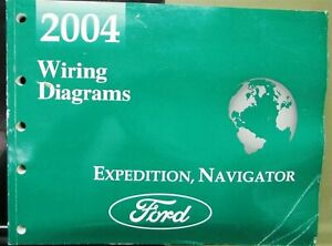 2004 Ford Lincoln Dealer Electrical Wiring Diagram Manual ...