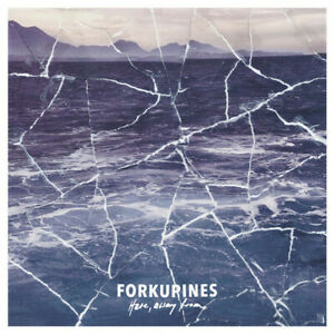 Forkupines – Here, away from LP * white vinyle * Post-Punk, Emo, pop punk NEW
