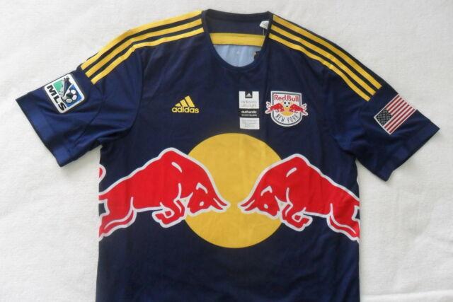 9a8060b85 RARE~Adidas ADIZERO New York RED BULL USA Soccer NY AUTHENTIC shirt Jersey~ Men
