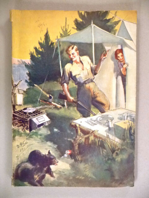 Abercrombie & Fitch CATALOG - 1930's ~~ camping & outdoors equipment, supplies