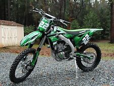 2012 2013 2014 2015 KXF 450 graphics Kawasaki KX450F sticker kit NO2001 Green
