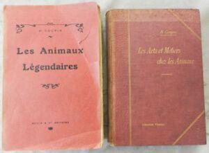 LOT-LES-ANIMAUX-LEGENDAIRES-amp-LES-ARTS-ET-METIERS-CHEZ-LES-ANIMAUX-H-COUPIN