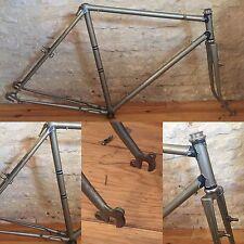 Vintage French Randonneuse Frame René Herse Berthoud Cyclotourisme Peugeot