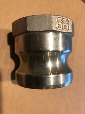 A200 2 Cam Lock Coupling Cam And Groove 316 Ss Stainless 2 Npt Female Adapter