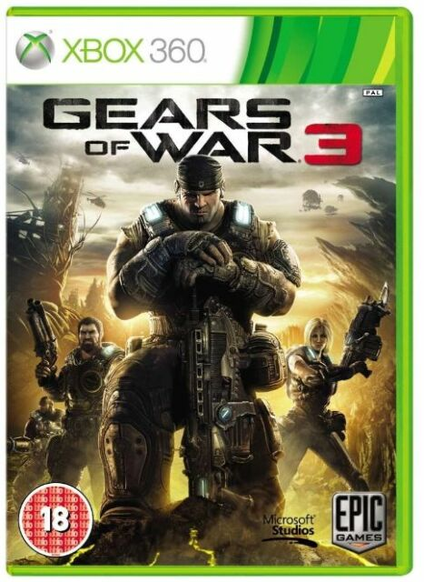 XBOX 360-GEARS OF WAR 3 (GOW) ** Nuovo e Sigillato ** Compatibile Xbox One-UK STOCK