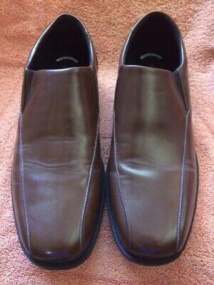 Nunn Bush Brown Jefferson Loafers Men S Comfort Gel Shoes