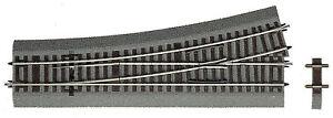Roco-H0-42532-Weiche-links-Wl-15-mit-Bettung-Laenge-230-mm-15-NEU-ohne-OVP