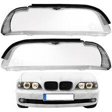 Set Scheinwerferglas Streuscheibe 5er BMW E39 LCI Bj. 00-04 alle Halogen & Xenon