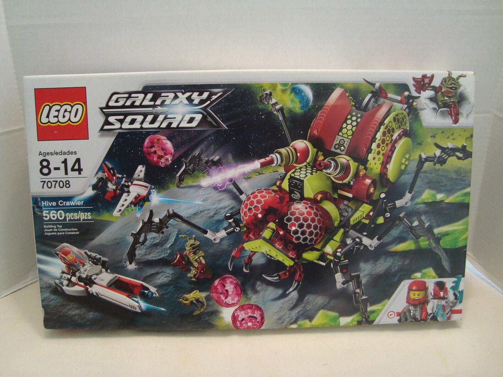 Lego  70708 Hive Crawler Galaxy Squad RETIrouge RARE et difficile à trouver Neuf dans sa boîte 2013