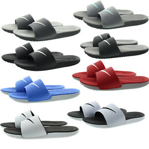 newest 2aac7 7d641 Details about Nike 832646 Mens Kawa Slide Athletic Flexible Slip On Slides Sandals  Shoes