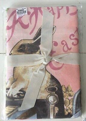 2 Botanical Tomato Towels~KITCHEN TOWEL SET~NIP! WILLIAM SONOMA~NEW~Set of Two