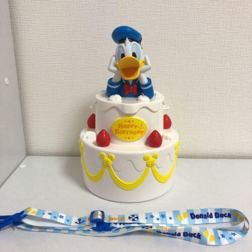 Disney Donald Duck Popcorn Bucket Birthday Tokyo Disney Resort Limited Japan F//S