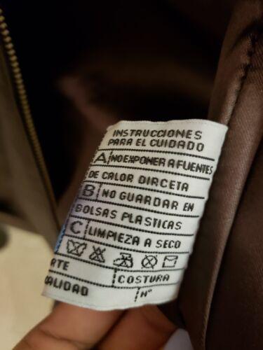 Argentina Lille In Kvinder Læder Størrelse Brun Jakke Made Bw00IgRqt