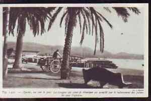1948 -- ATTELAGE SUR LE PORT D AJACCIO S735 - France - 1948 -- ATTELAGE SUR LE PORT D AJACCIO S735 il ne s'agit pas d'une carte postale , mais d'un beau document paru dans la rare la france en 1948 le document GARANTI D'EPOQUE est en tres bon état et présenté sur carton d'encadrement format 165 x  - France