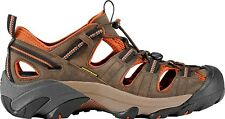 New Keen Mens Arroyo II Brown Leather Athletic Trail Hiking Sandals Size 9