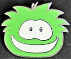Disney Club Penguin Puffles GREEN  Puffle Fuzzy Head Trading Pin