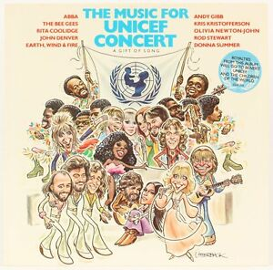 Music-For-Unicef-Concert-A-Gift-Of-Song-Various-Vinyl-Record