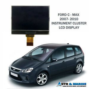 FORD C-MAX LCD VDO DISPLAY SCREEN for INSTRUMENT CLUSTER 2007 - 2010 ..NEW..