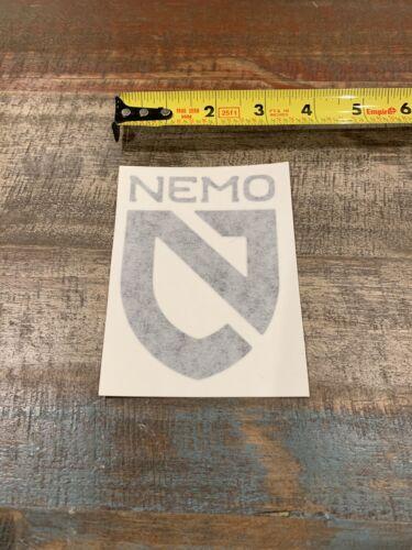 "Nemo Equipment Black Logo Sticker//Decal Climbing Outdoor Approximately 3/"""