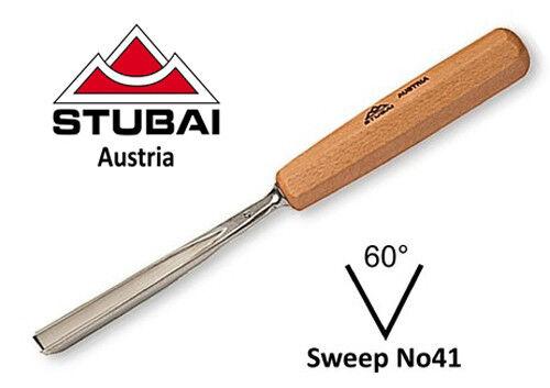 Stubai 20mm No41 Sweep Straight V-Parting Tool