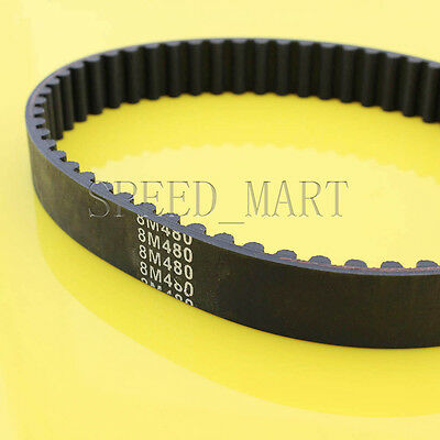 300-5M HTD Timing Belt 60 Teeth Cogged Rubber Geared Closed Loop 15mm Wide