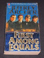 wmf  SALE : JEFFREY ARCHER ~ FIRST AMONG EQUALS