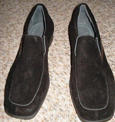 Bequeme Schuhe,Slipper,Halbschuhe,schwarz,Gr.37,Leder,seitlich Gummizug,Neu