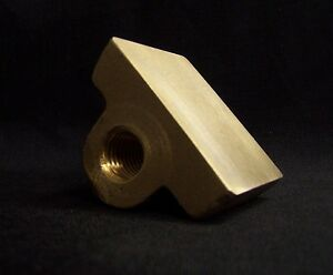 """1/"""" 5 Pitch Right Hand Flange Type Acme Bronze Nut"""